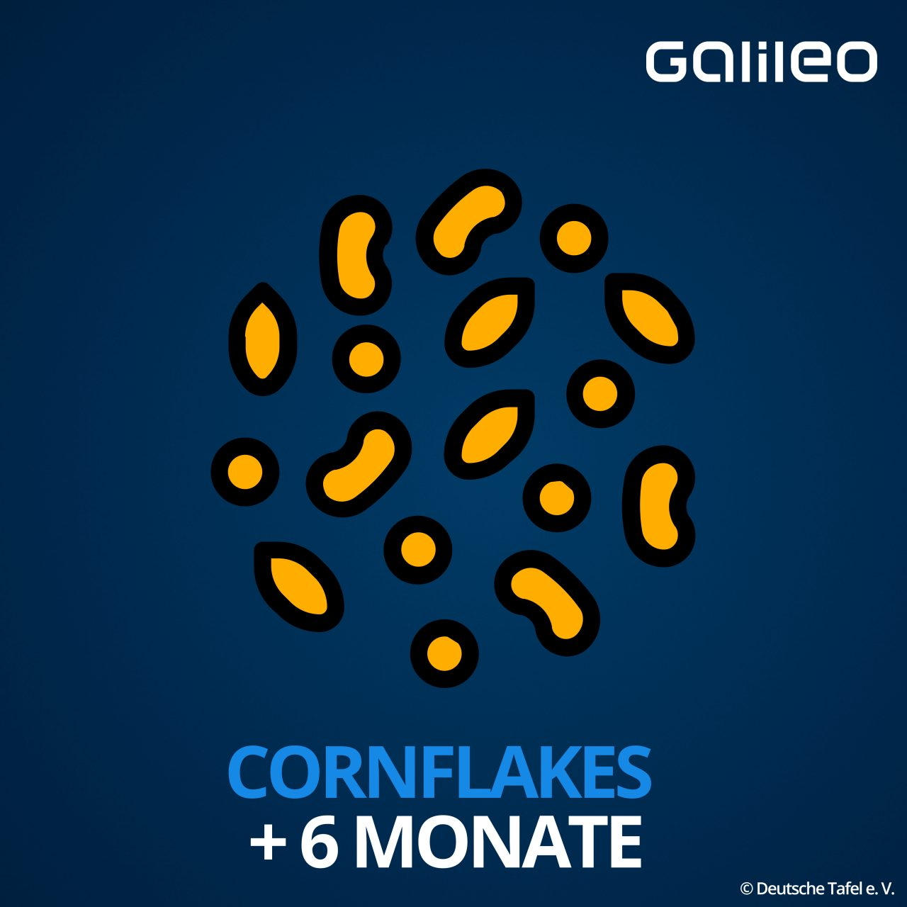 Mindesthaltbarkeitsdatum Cornflakes