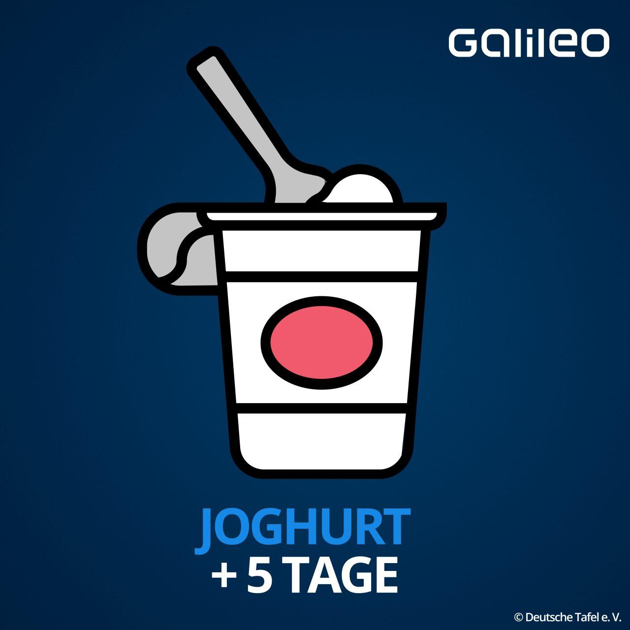 Mindesthaltbarkeitsdatum Joghurt