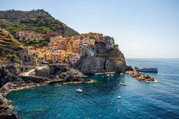 Cinque Terre zählt UNESCO-Weltkulturerbe.