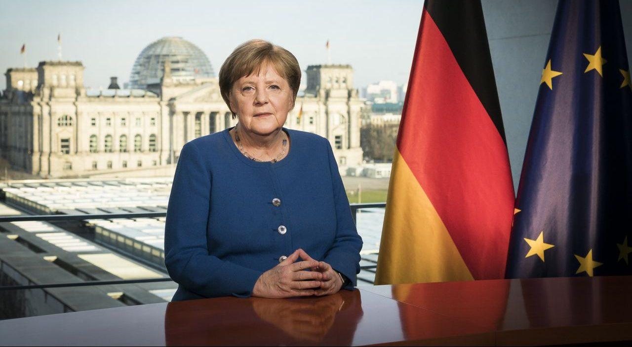 Rede Kanzlerin Merkel