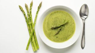 Spargel-Suppe