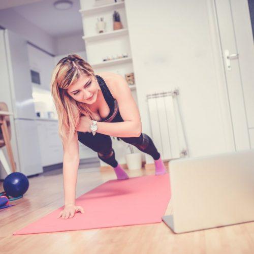 Workout Zuhause während Corona