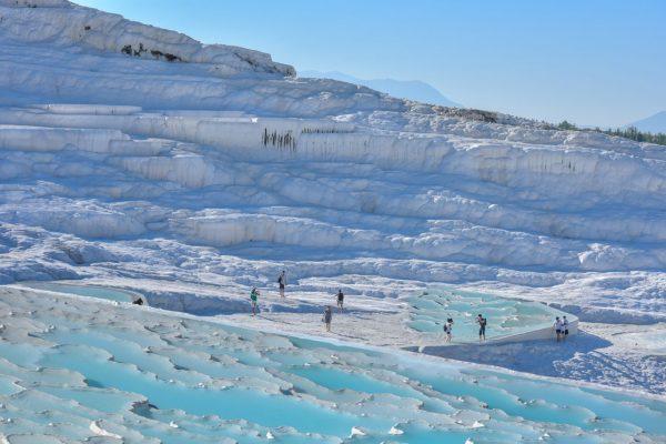 Die Pamukkale sind ebenfalls Teil des UNESCO-Weltkulturerbes.
