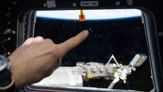 ISS-Einschlag