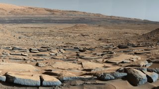 Mars Hinweis auf Wasser