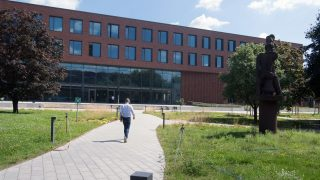 Robert Koch-Institut vor der Inbetriebnahme des S4-Labors