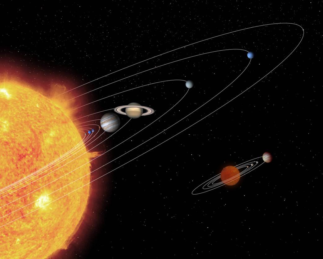 Sonne im Universium