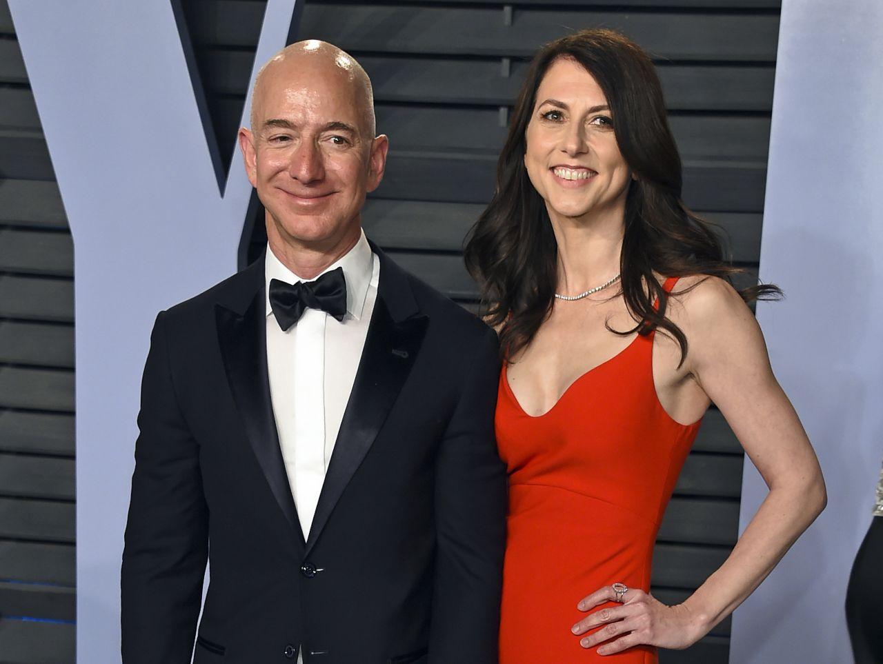 Gehen seit 2019 getrennte Wege: Jeff und MacKenzie Bezos.