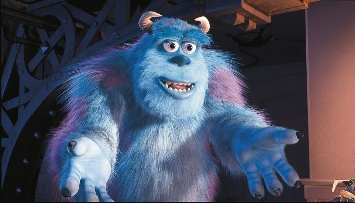 Fertiges Bild Animationsfilm Monsters Inc.