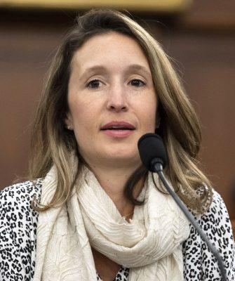Lauren Gardner, die Erfinderin der Echtzeit-Tracking-Map für Covid-19-Fälle.