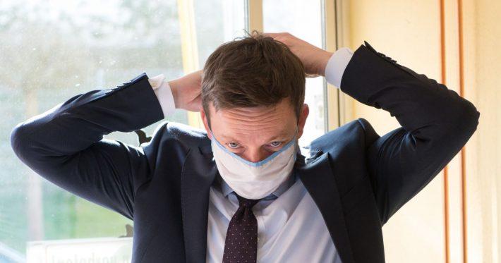 Will alle Saarländer mit Masken versorgen: Tobias Hans (CDU)