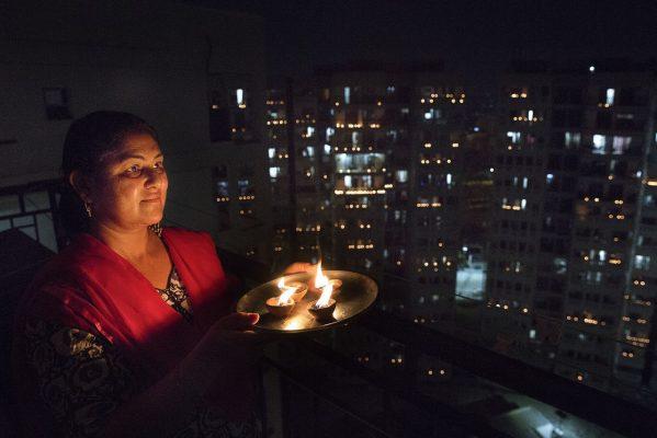 Aktion in Indien: Lichter gegen Dunkelheit