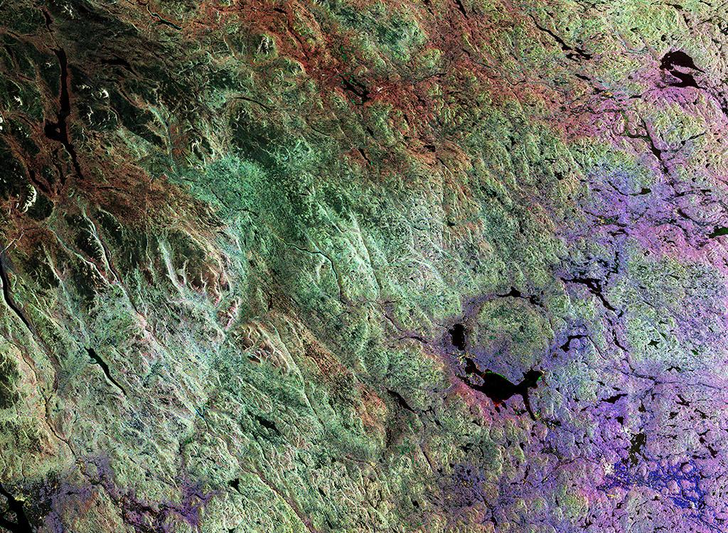 Siljan ist einer der größten Seen Schwedens. Gleichzeitig befindet sich dort der größte Einschlagkrater Europas. Sein Durchmesser beträgt etwa 55 Kilometer. Er ist vor rund 360 Millionen Jahren entstanden.