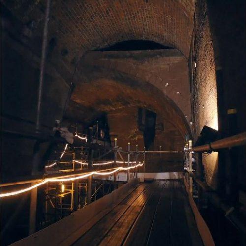 Tunnel unter Liverpool