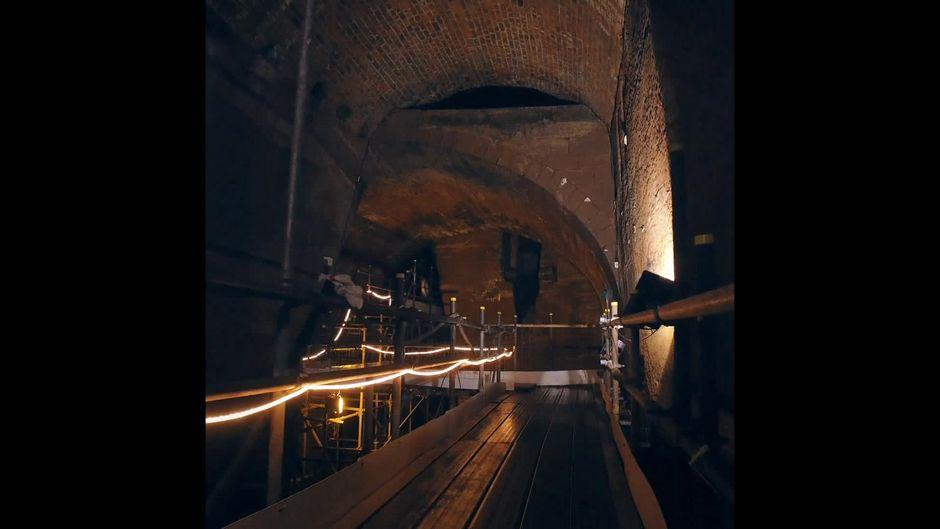 Das mysteriöse Tunnelsystem von Liverpool: Ein Besuch im Untergrund
