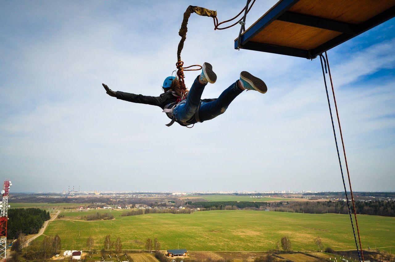 Beim Bungee-Jump bist du voll davon: Was Adrenalin und andere Hormone mit dir machen
