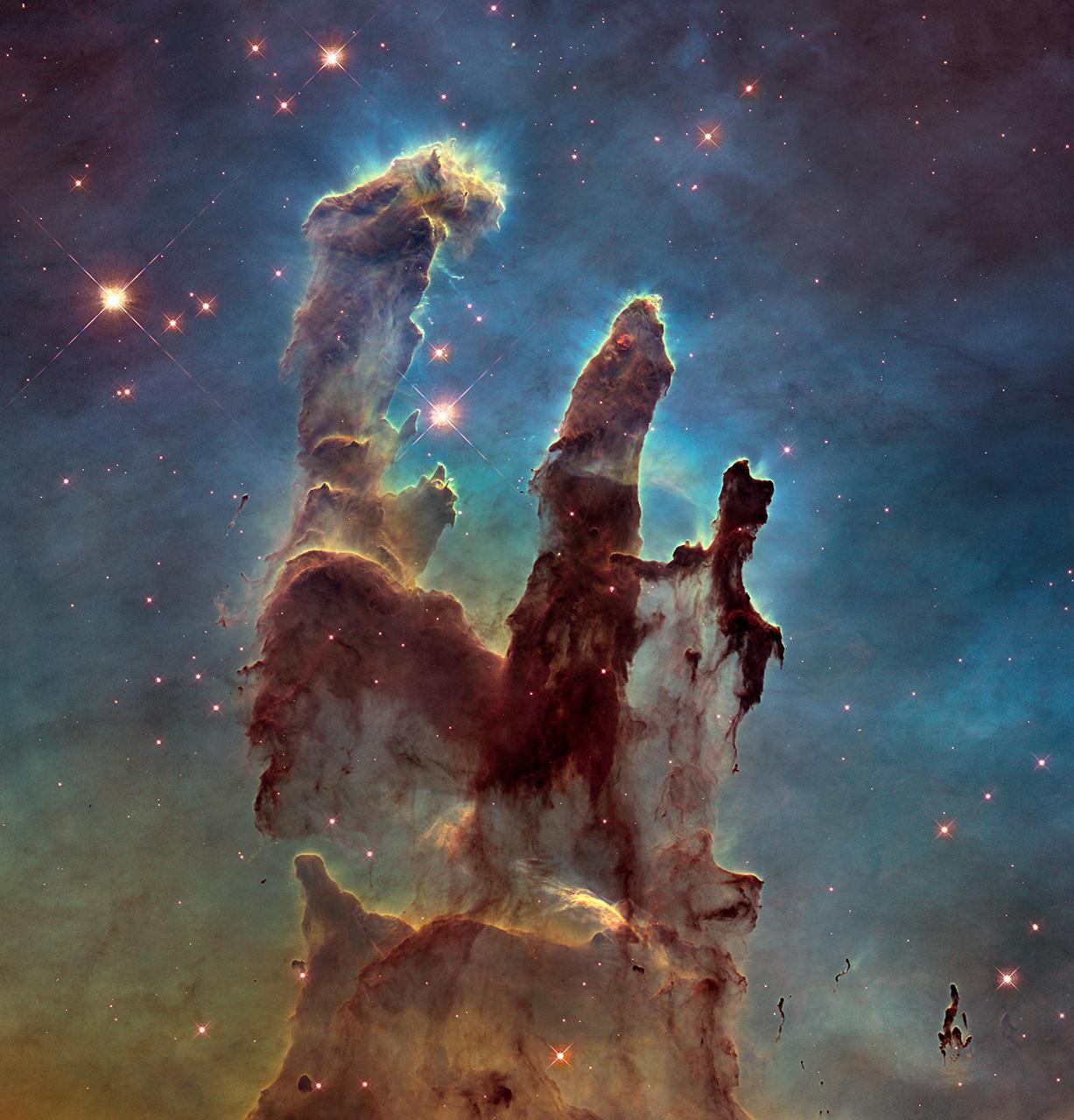 Pillars of Creation Hubble Teleskop