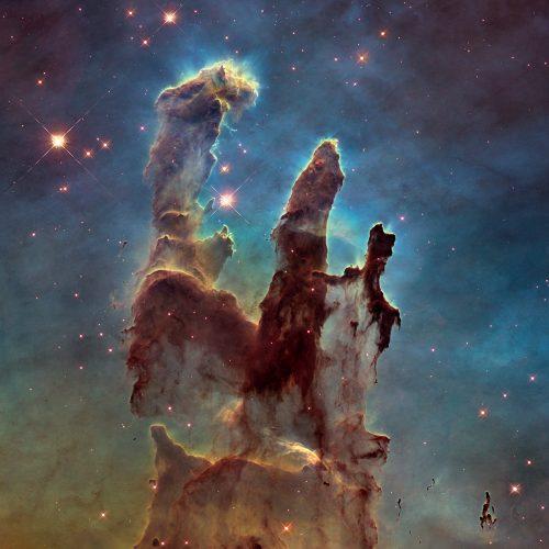 """Ein Foto der so genannten """"pillars of creation"""""""