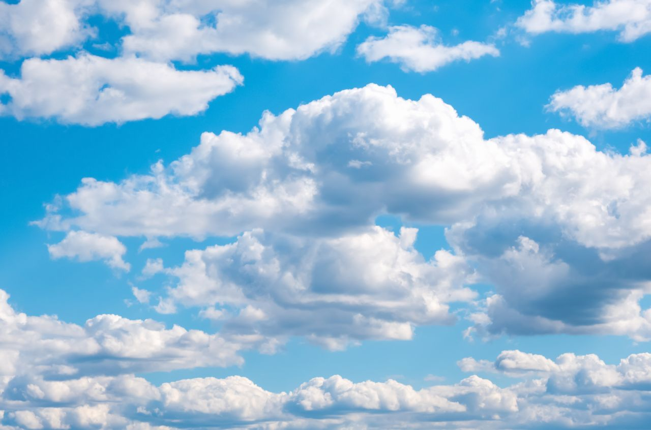 Cumulus-Wolke