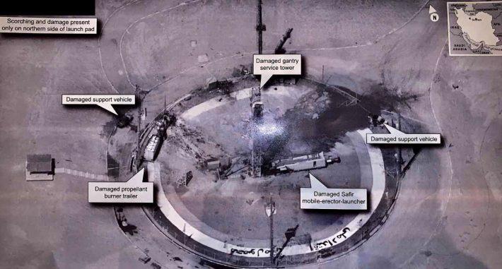 Bilder eines Spionage-Satelliten