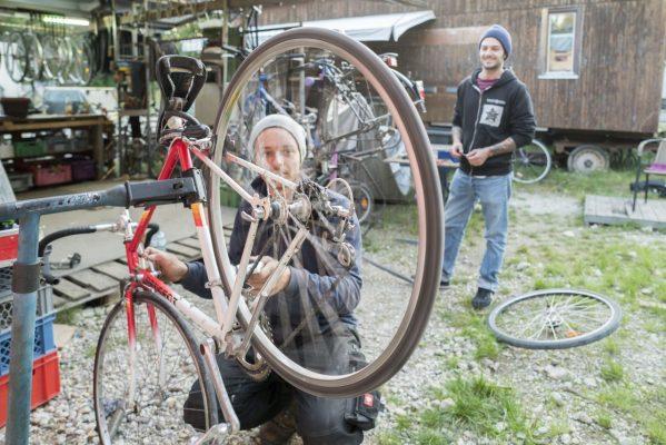 Fahrradwerkstatt in München