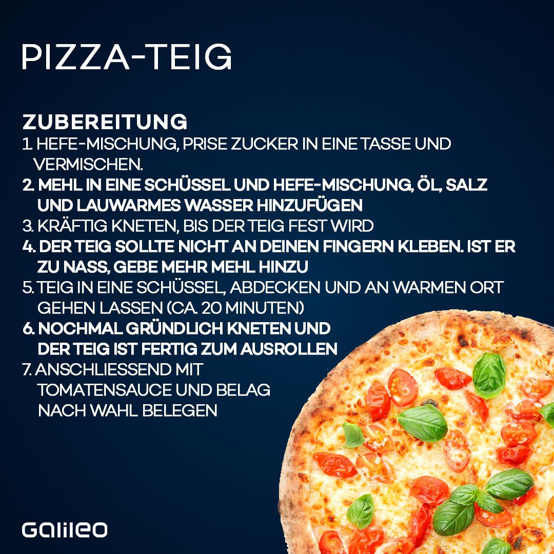 Pizza ganz einfach selbst gemacht: So gehst du vor.