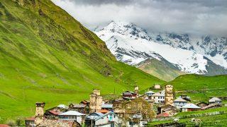 Die georgische Dorfgemeinschaft Uschguli