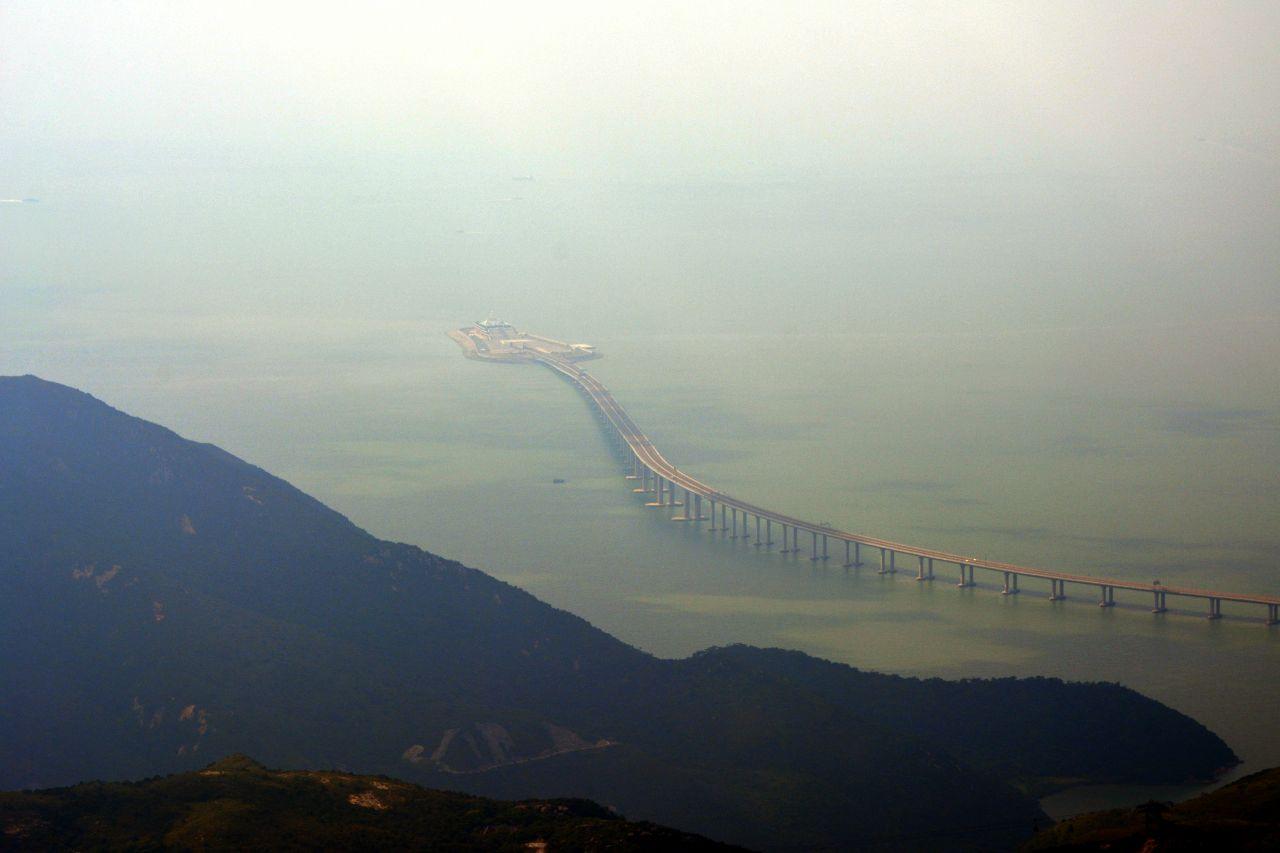 Hongkong-Zhuhai-Macau-Brücke