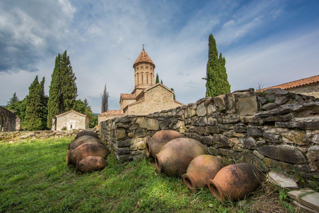 Weinanbau in Georgien