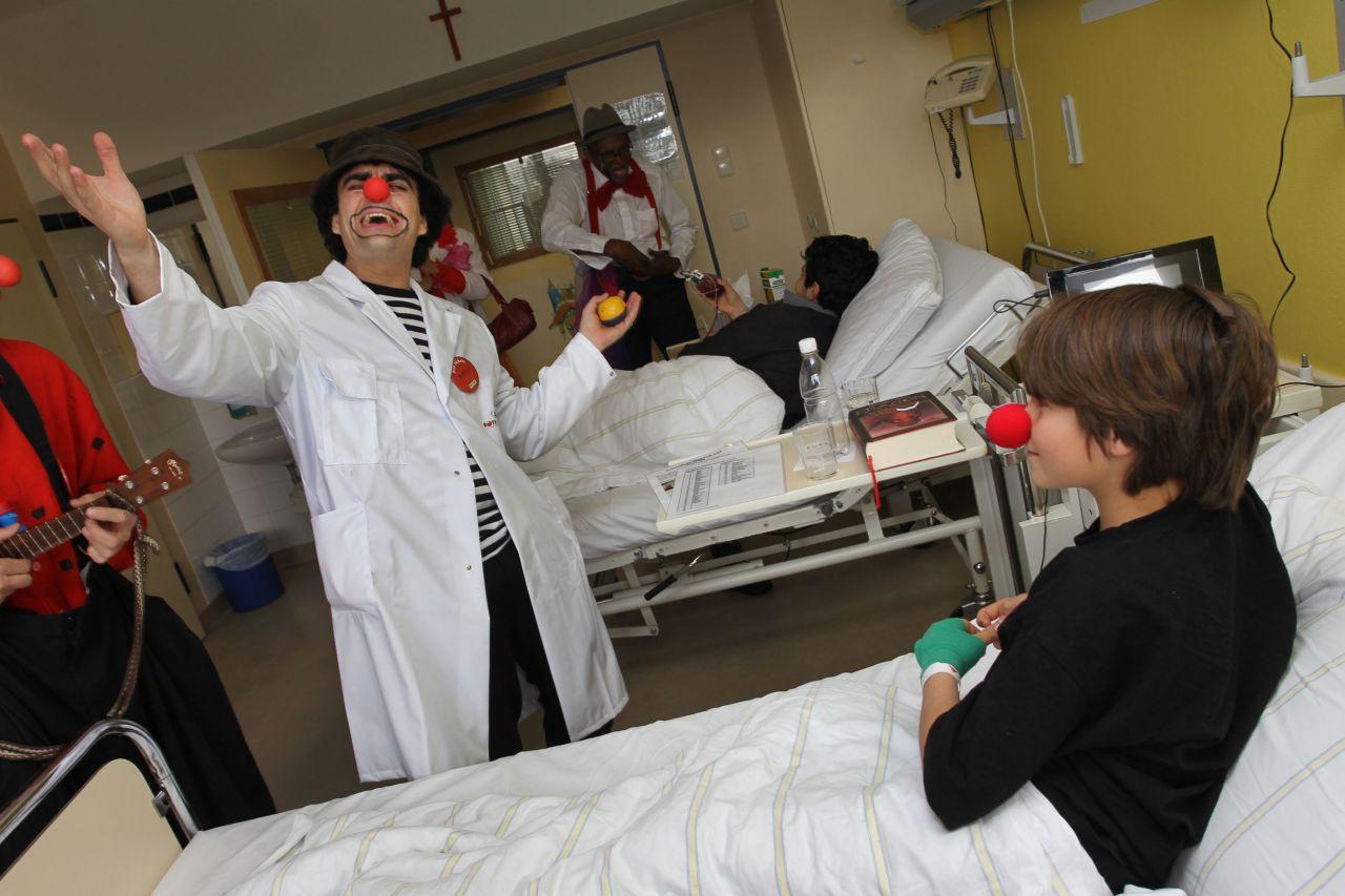 Krankenhaus-Clown