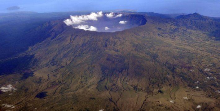 Vulkan Tabora in Indonesien