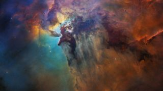 Lagoon Nebula Hubble Teleskop