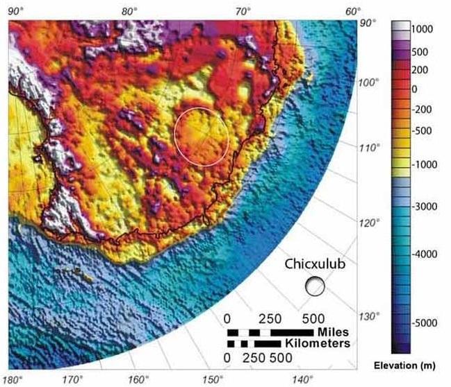 Der Wilkeslandkrater ist der größte Krater der Erde. Der Krater ist unter dem Eis der Antarktis verborgen und konnte erst kürzlich gefunden werden. Der Krater hat einen Durchmesser von 480 Kilometern und etwa 250 Millionen Jahre alt. Der Meteorit, der dort einschlug, war rund 50 Kilometer groß.