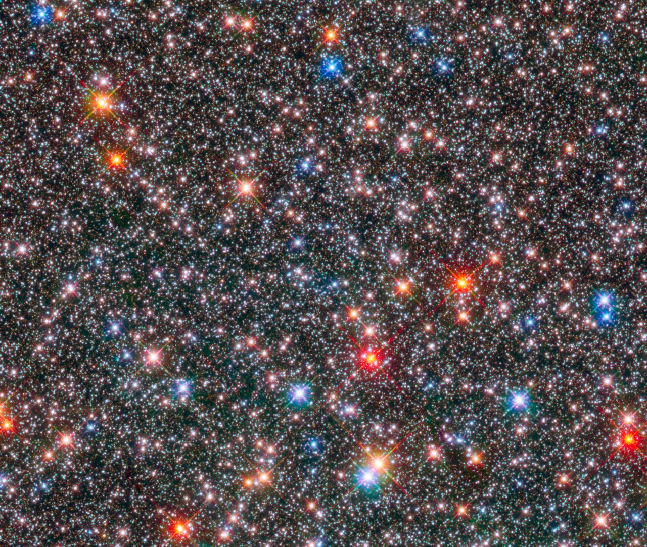 Milchstraße Hubble Teleskop