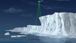 Cryosat-2: Eismächtigkeit
