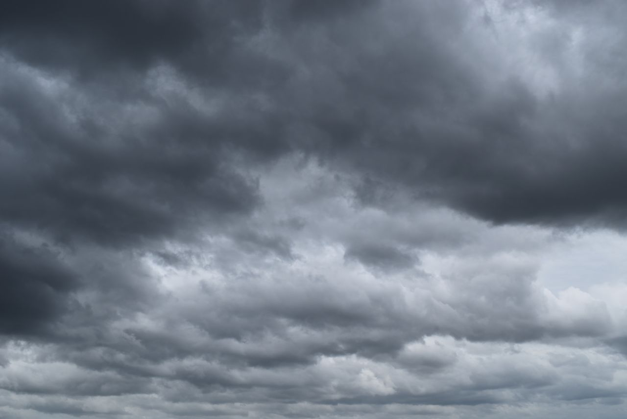Nimbostratus-Wolken