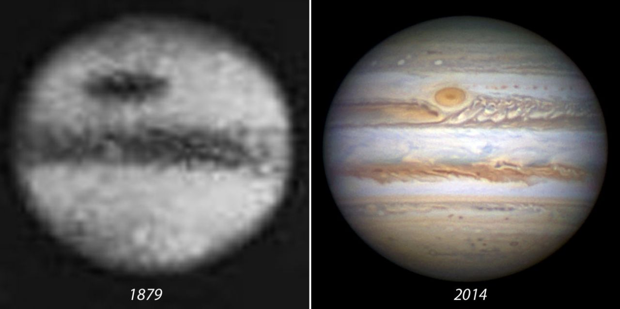 Comparison Jupiter Photo