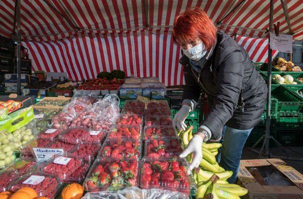 In Deutschland wurde zuletzt mehr Obst und Gemüse unter freiem Himmel gekauft