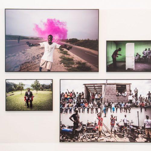 Bilder aus der Pressefoto-Ausstellung 2019.