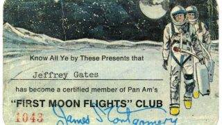 PanAms First Moon Flights Club