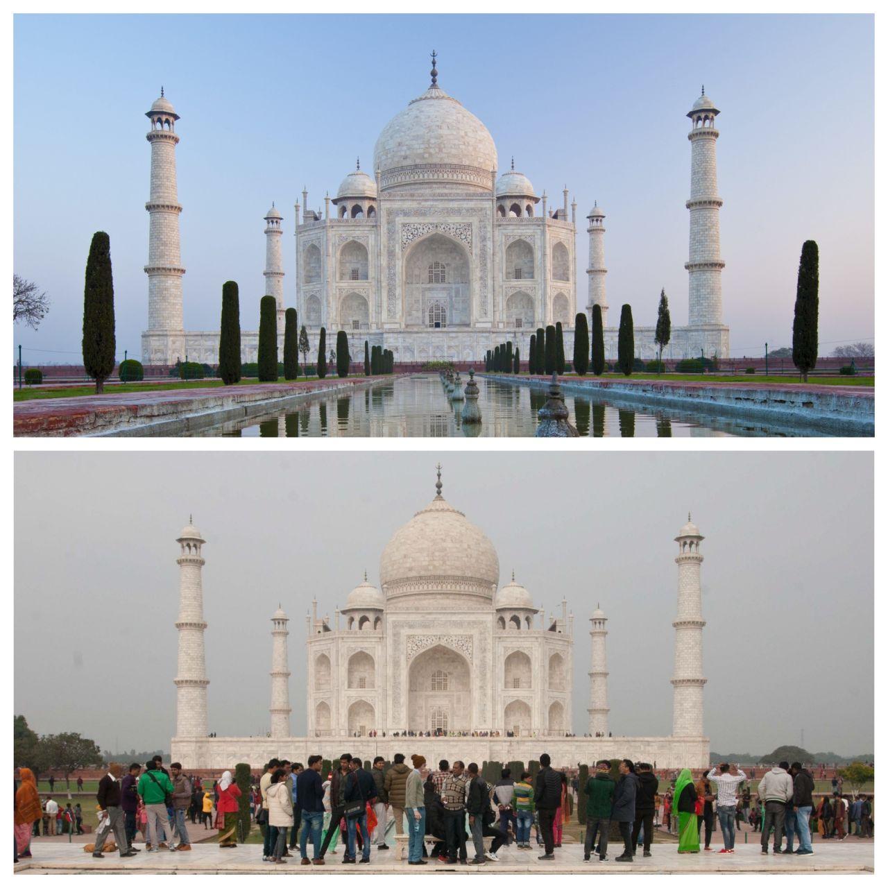 Der Taj Mahal in Indien ist sehr beliebt. Täglich besuchen Zehntausende das Grabmahl - das war vor Corona.