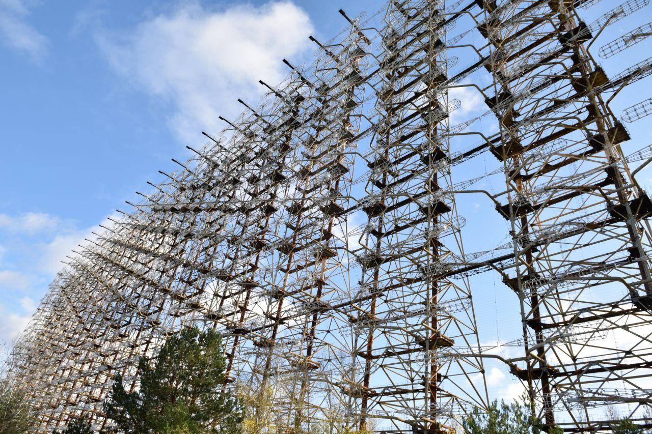 """Besuch in Tschernobyl: Das steckt hinter der geheimnisvollen """"Wand der Spione"""""""