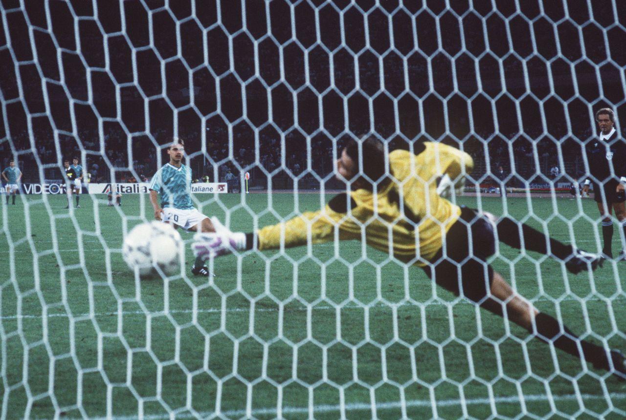 Elfmeterschießen Deutschland gegen Endland WM 1990