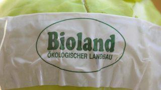 Das Siegel Bioland zeichnet den Anbau ohne Pestizide aus.