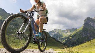 Lust auf eine Mountainbike-Tour? Dann bietet sich eine aufregende Fahrt durch das Oytal - mit Blick auf die Allgäuer Alpen - an. Im hinteren Oytal kommst du am Stuibenfall vorbei -einer der schönsten Wasserfälle des Allgäus.