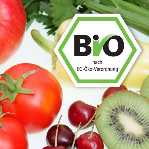 Bio-Siegel, Gemüse und Obst