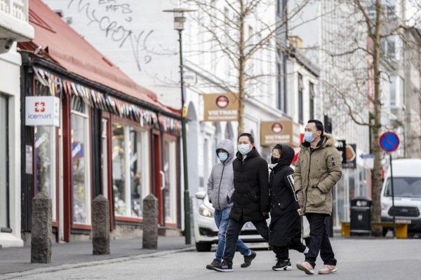 In Reykjavik haben bereits seit einigen Tagen die ersten Geschäfte und Schulen wieder geöffnet