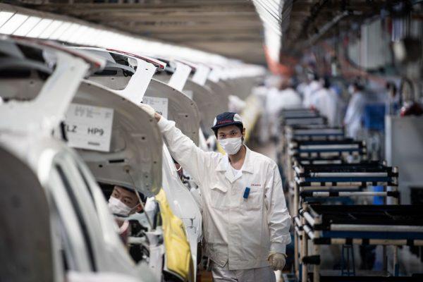 In China rollen die Bänder wieder