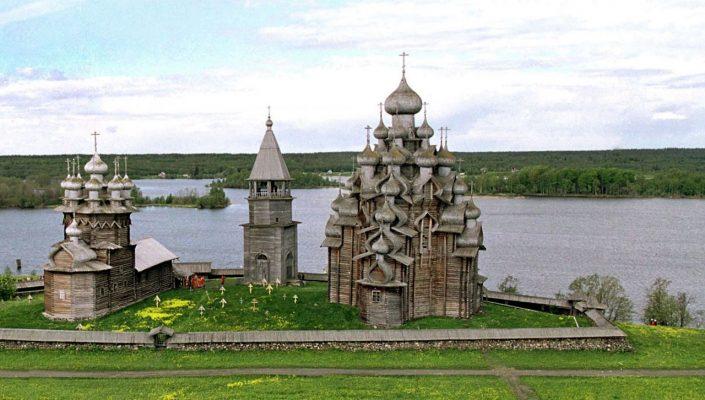 Sie gilt als eine der schönsten orthodoxen Kirchen in Russland: die Verklärungskirche auf der Insel Kischi