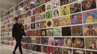 Auf vielen Plattencovern war psychedelische Kunst zu sehen.